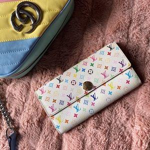 Louis Vuitton 🌈 Multicolor Monogram Sarah Wallet
